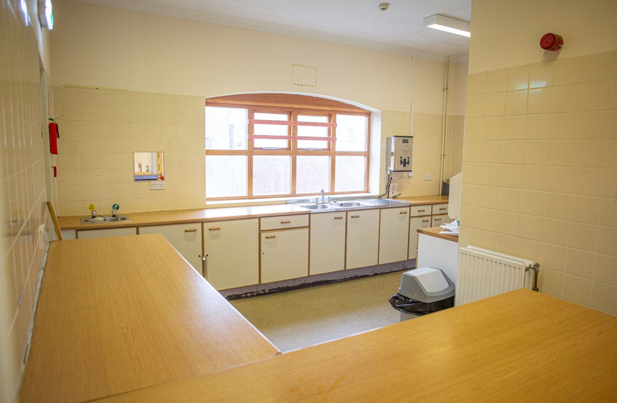 Vernon Terrace Community Centre kitchen