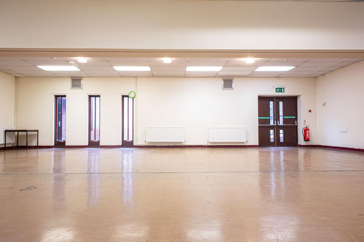 Briar Hill community centre hall
