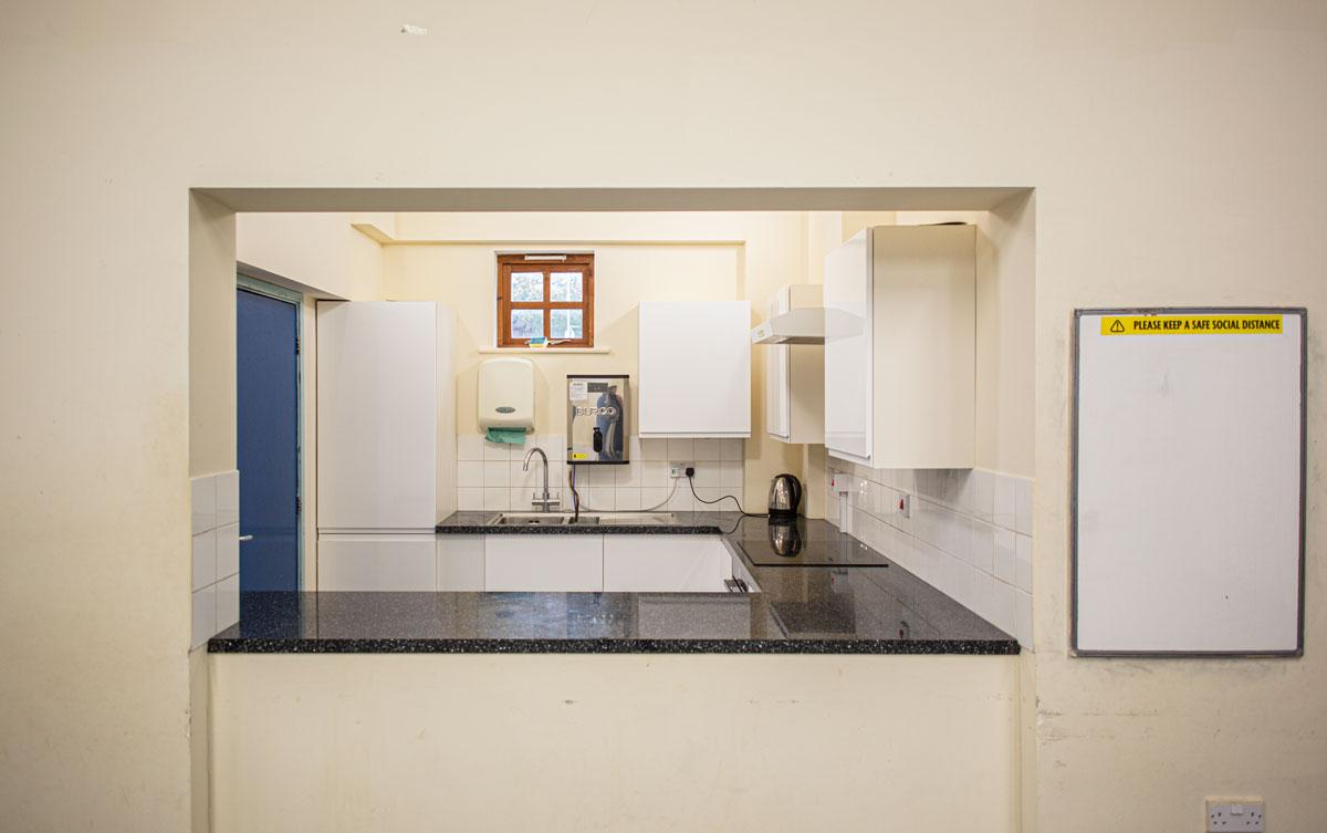 Kingsthorpe Community Centre kitchenette