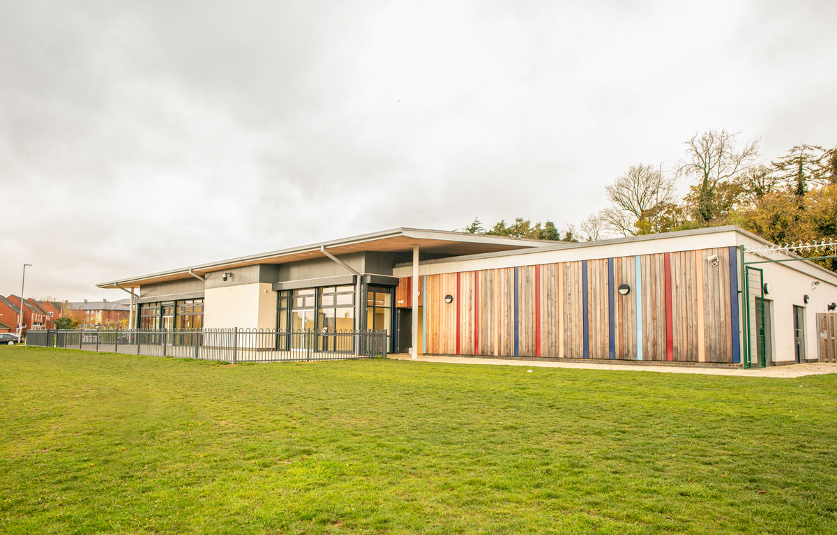 St Crispin Community Centre front