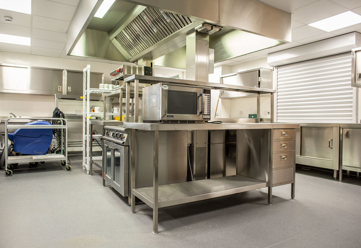 St Crispin Community Centre kitchen