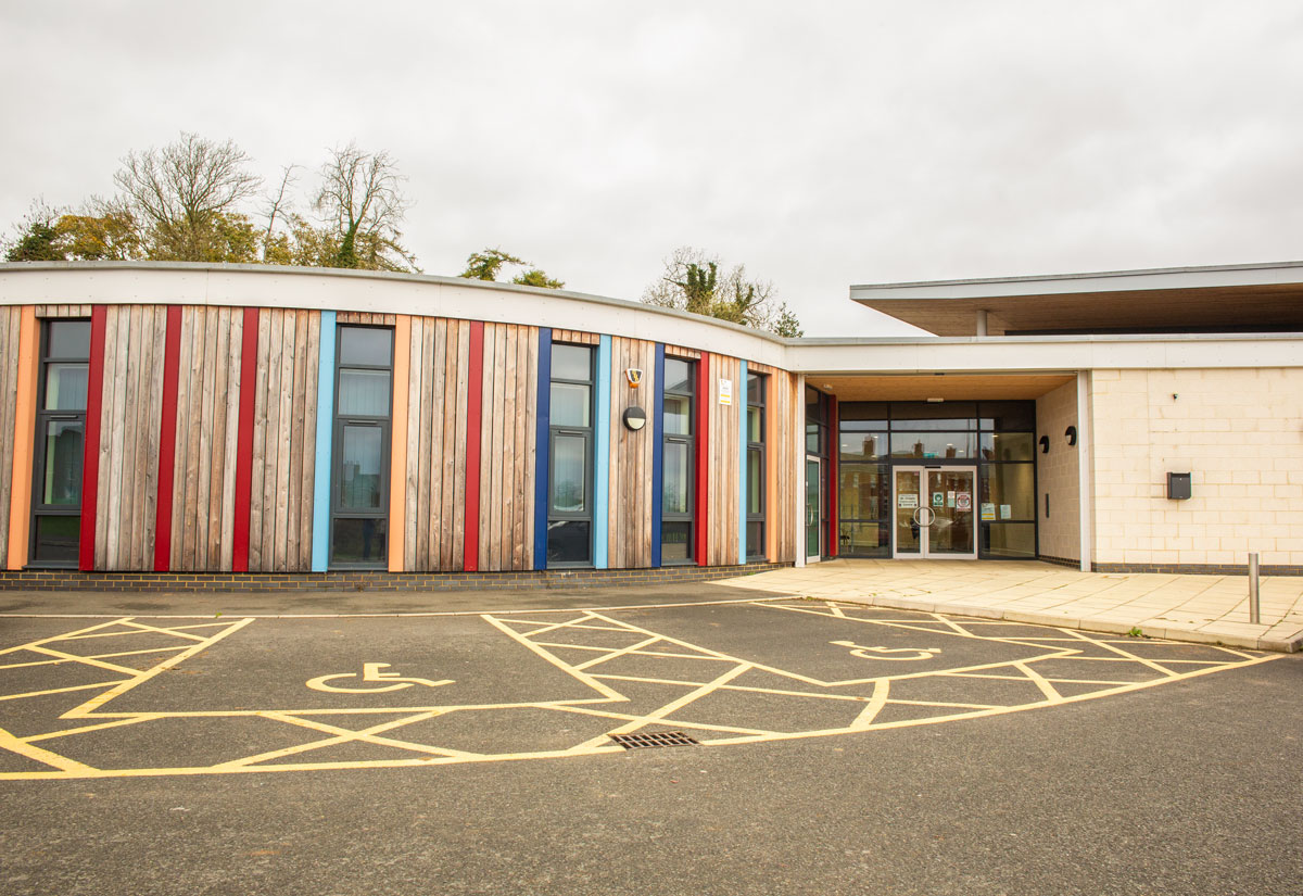 St Crispin Community Centre entrance