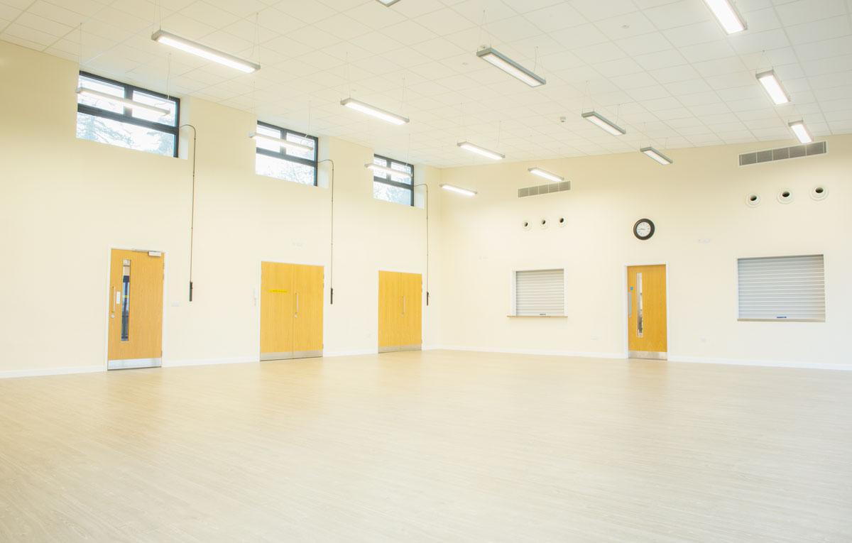 St Crispin Community Centre main hall